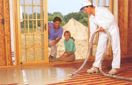 Merveilleux The Most Common Application For Radiant Heat Is In The Basement Because It  Tends To Be The Coldest Area Of Any Building.